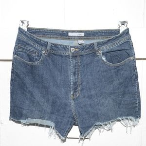 Chico's womens cut off shorts size 3 -279-